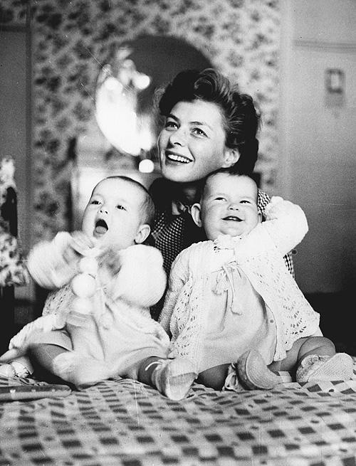 Ingrid Bergman si fetele sale gemene Totul despre mame