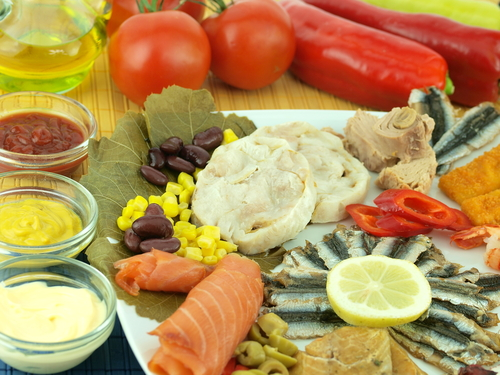 Exemple de alimente din dieta mediteraneeana