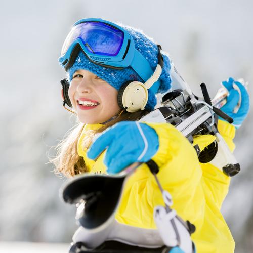 Copiii si schiul / Totul despre mame