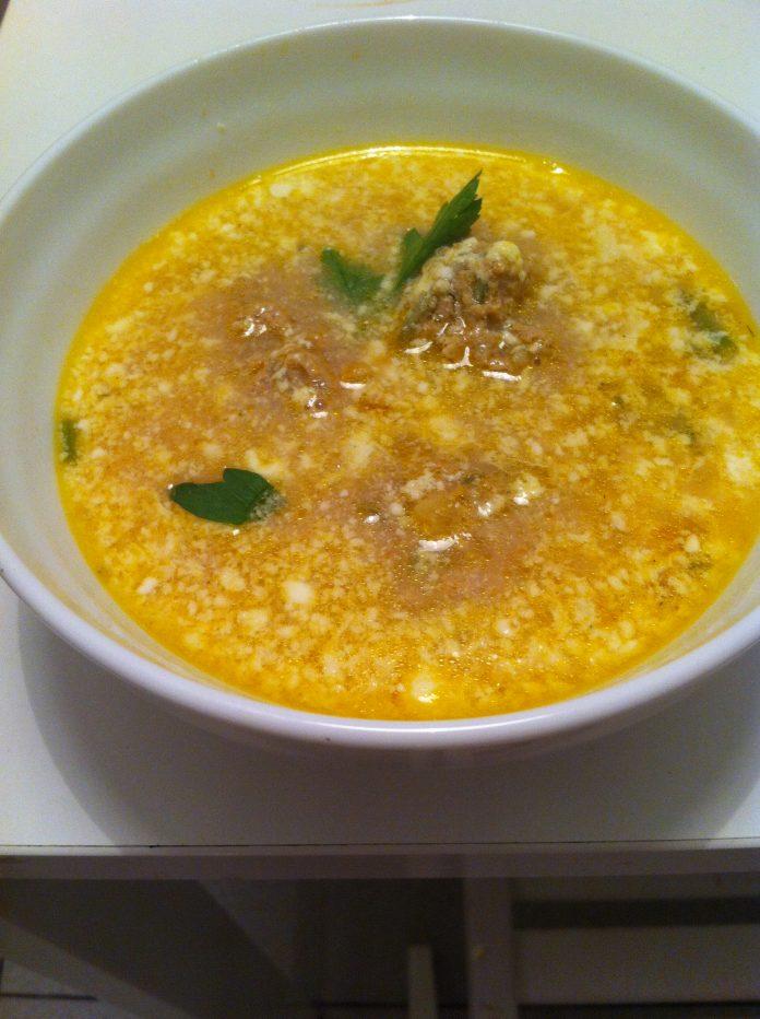 ciorba cu perișoare supă