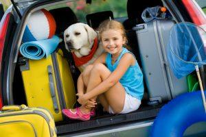 vacanță cu copiii bagaje