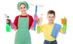Copiii si ajutorul in casa / Totul despre mame