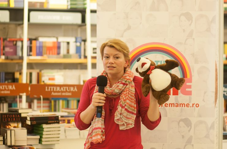 Monica Reu la Conferințele Totul despre mame Brașov