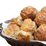 Pogăcele cu brânză sau caşcaval, perfecte în pacheţel