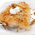 Cataif cu brânză, un desert de neratat