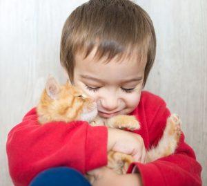 Copiii şi animalele: cât de periculos este părul de animale