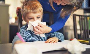 copiii cu alergii