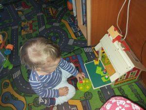 autismul și manifestările lui - George