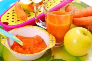 mâncarea gătită în casă pentru bebeluși