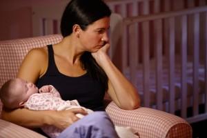 depresia postnatală