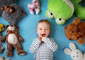 jocuri pentru bebeluși sub șase luni