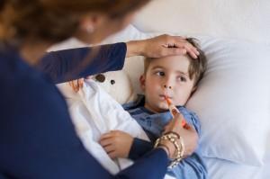 copilul are febră