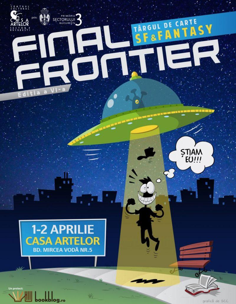 Târg de Carte SF&Fantasy pe 1 și 2 aprilie la Casa Artelor