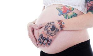 Tatuajele în timpul sarcinii