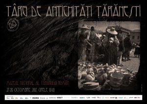afisul evenimentului targ de antchitati