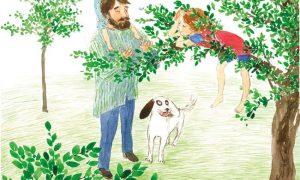 imagine din cartea luli si casuta din copac