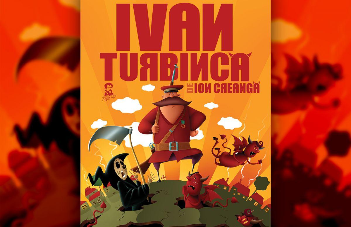 afisul spectacolului ivan turbinca evenimente pentru copii