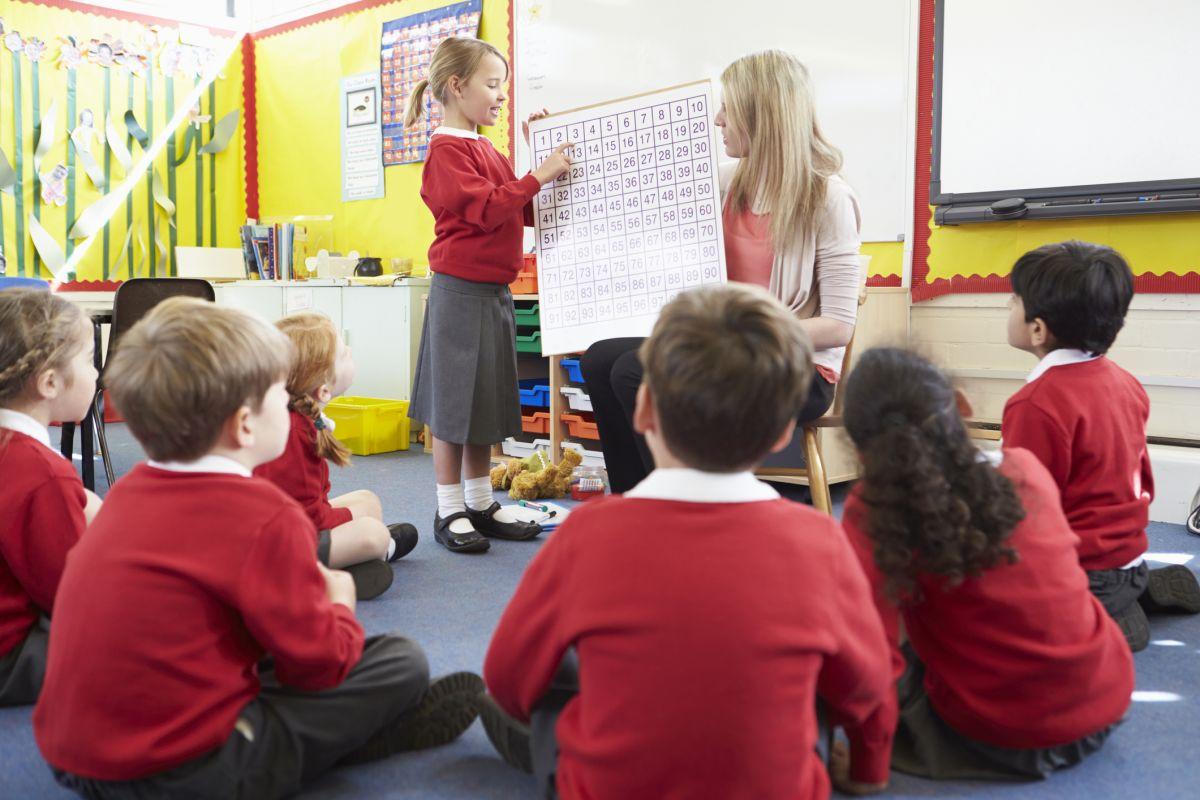 scoala copii educatoare invatare