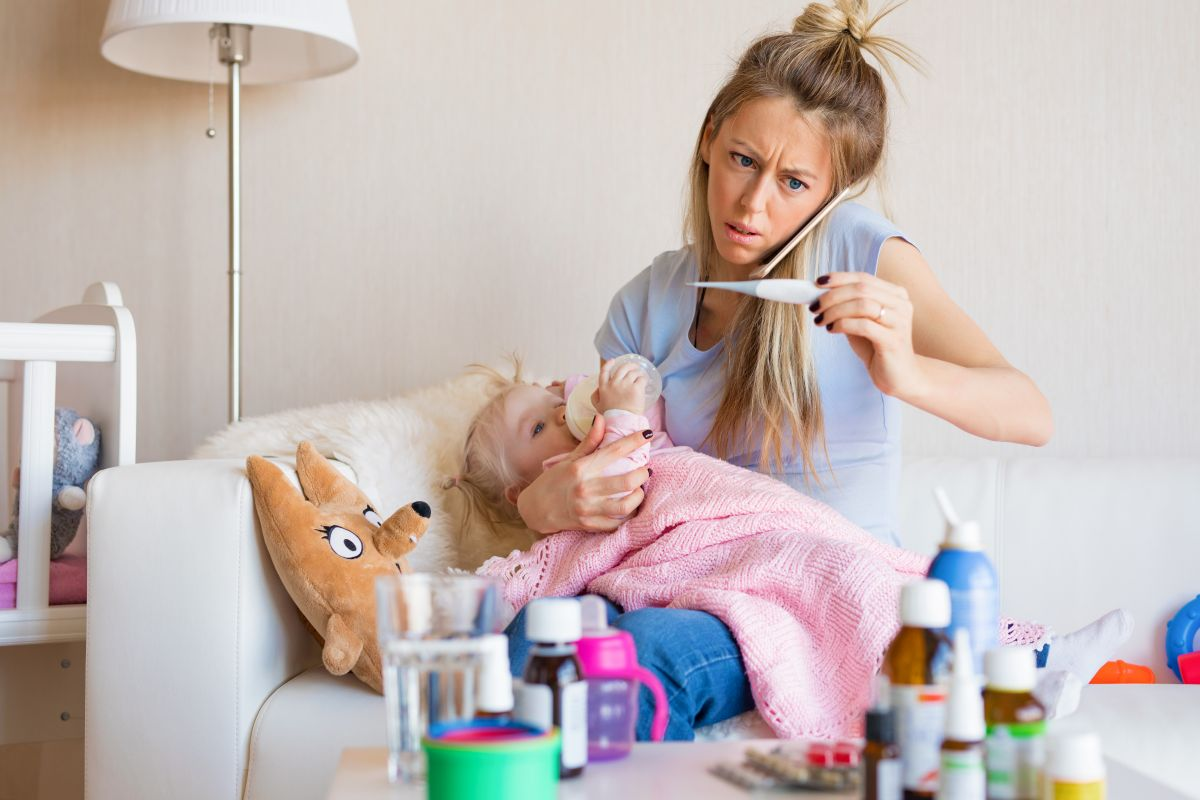 mama medicamente copil