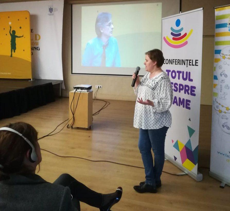 Marina Neciu, la Cluj, în dialog cu Alfie Kohn