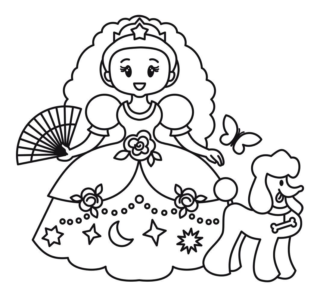 Planșe De Colorat Cu Prințese Totul Despre Mame