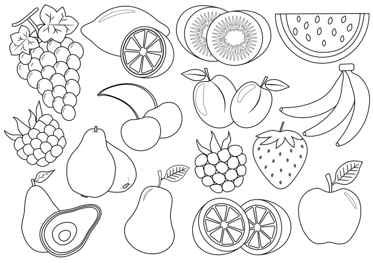 Imagini Cu Fructe De Colorat Totul Despre Mame
