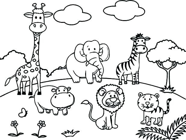 Desene De Colorat Cu Animale Totul Despre Mame Desene De
