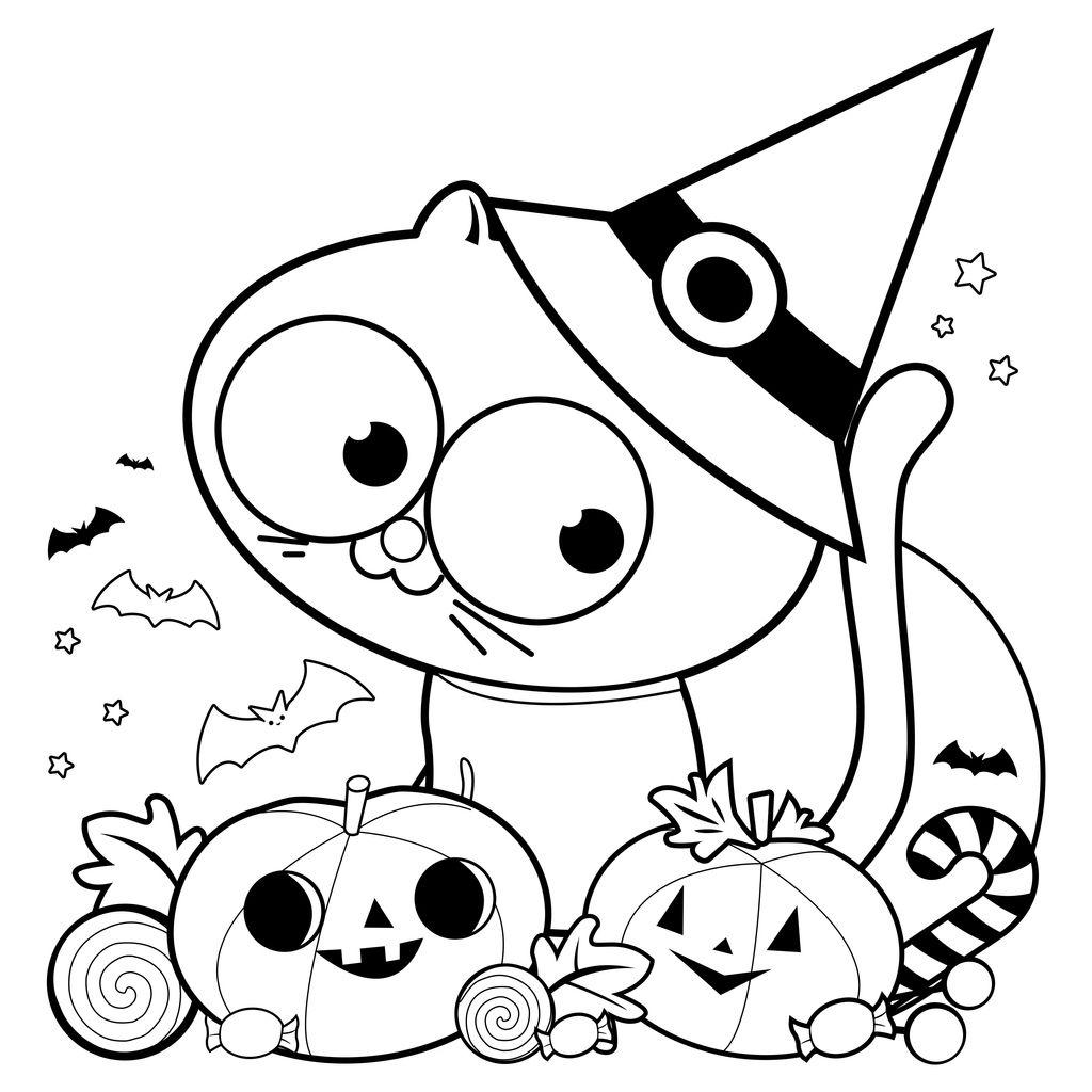 Desene De Halloween De Colorat Totul Despre Mame