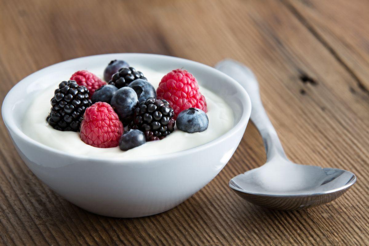 combinații de iaurt pentru bebeluși