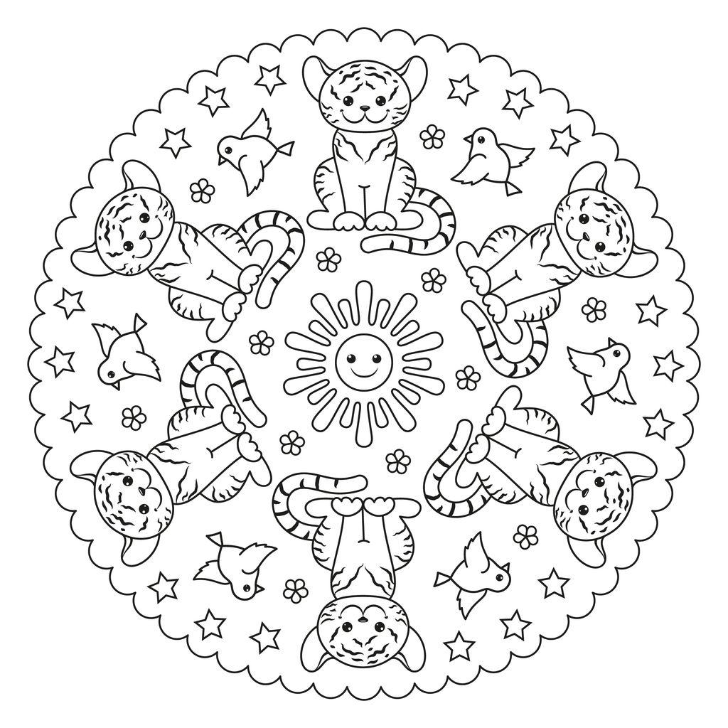 Mandale De Colorat Pentru Copii și Adulți Totul Despre Mame