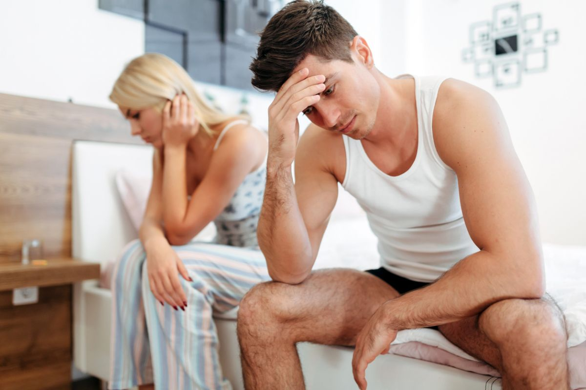 erecție masculină atunci când este stimulată