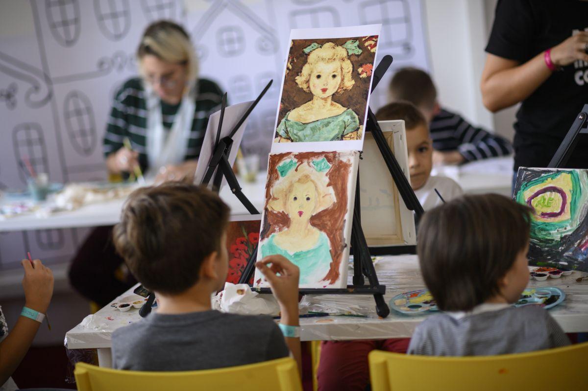 artă pentru copii