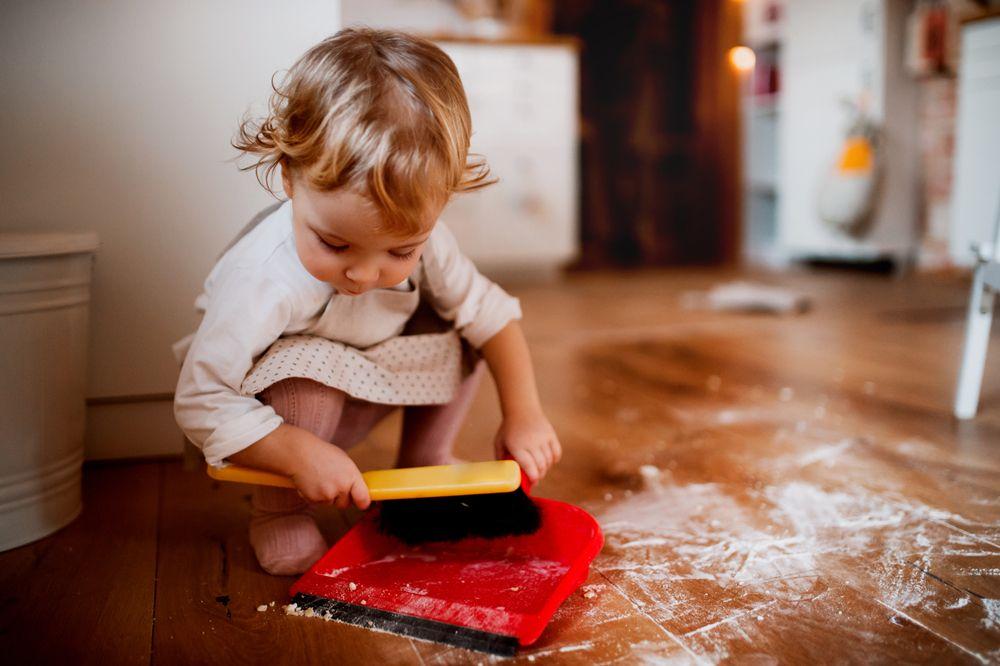 Treburile casnice potrivite copiilor de doi ani