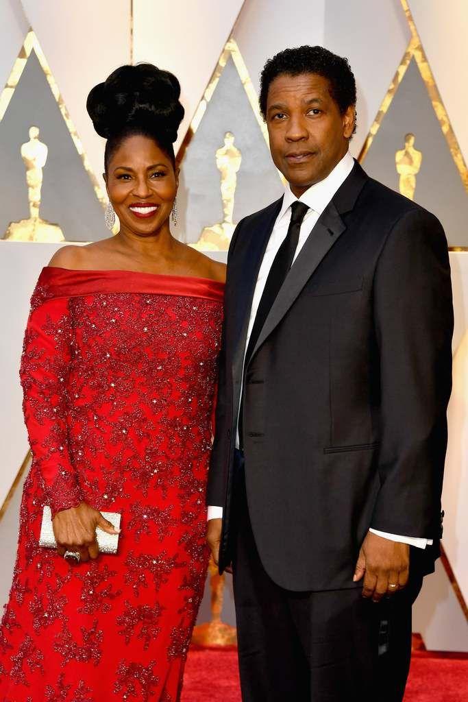 Denzel si Pauletta Washington