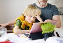 copiii cu ADHD și școala online