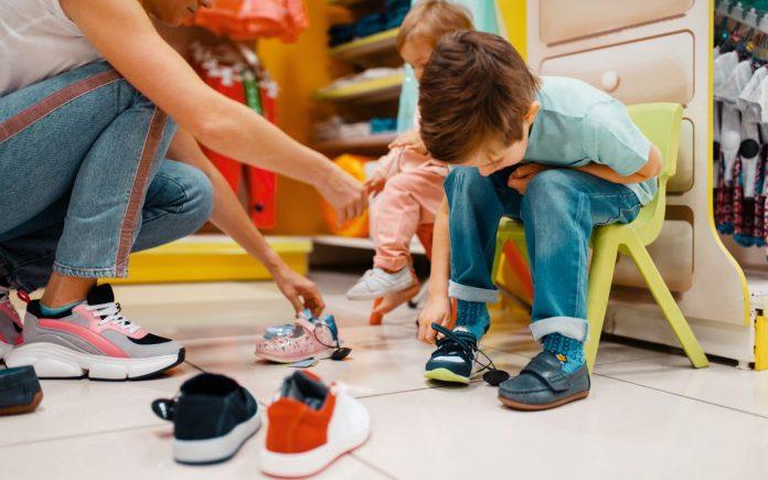 cum să alegi încălțămintea copilului